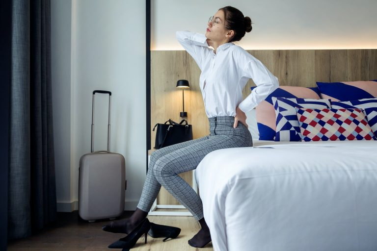 Traveling with Lower back Pain