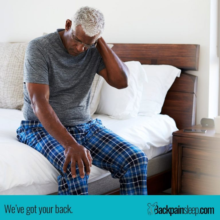 sleeping positions for back pain