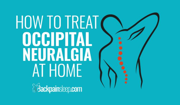 how to treat occipital neuralgia at home