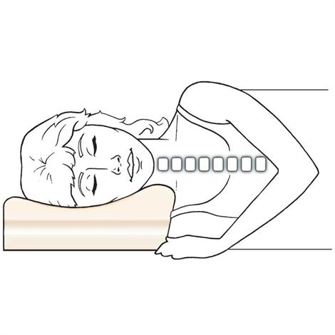 therapeutica pillow for neck pain