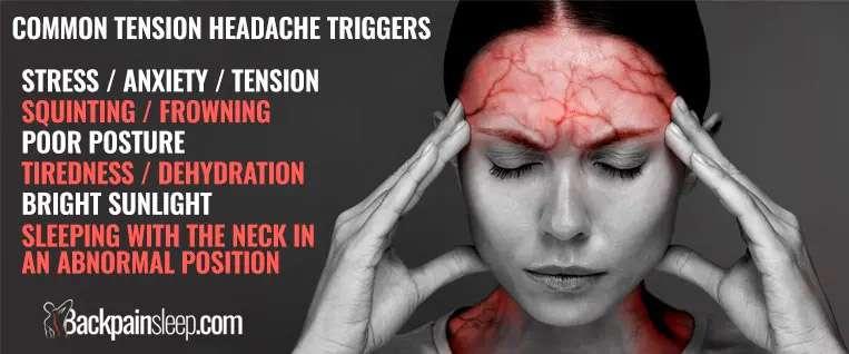 tension headaches symptoms