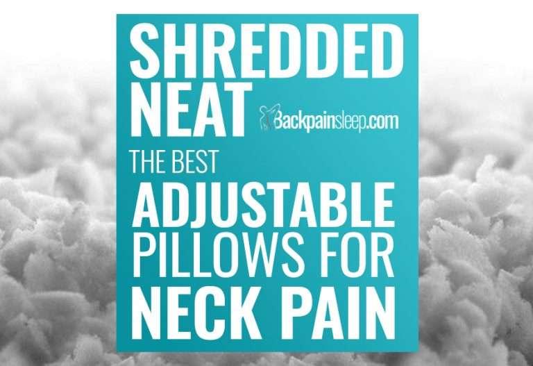 best adjustable pillows